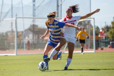 Senior forward Kayla Walker had a big final regular season with the Cougars as she was the team's second highest scorer. | Justin Tijerina/The Cougar