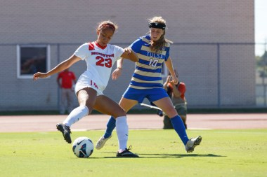 Freshman midfielder and forward Selena Peters played an important role for the Cougars this season as she was responsible for 11 of the team's shots from the 15 games she played. | Justin Tijerina/The Cougar