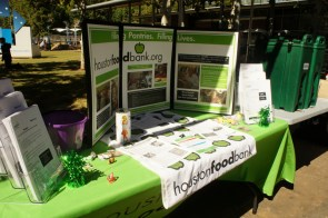 Various organizations were out recruiting at the Volunteer festival on Sunday.   Vallli Challla/ The Cougar