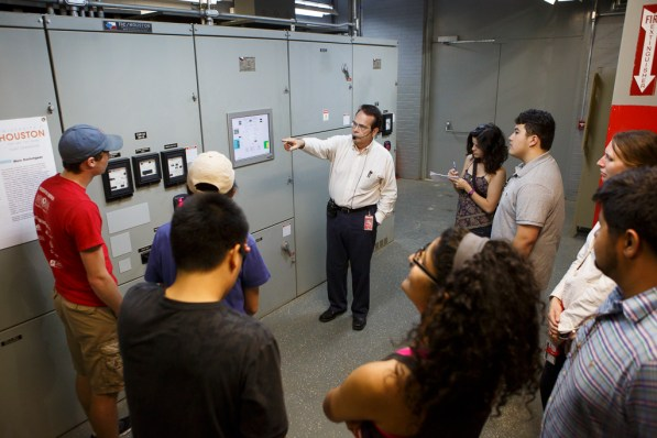 Switchgear allows for centralized electrical equipment protection. | Justin Tijerina/The Cougar