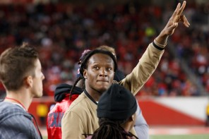 Another Texan player, receiver Deandre Hopkins, was also present for the Cougars' win. | Justin Tijerina/The Cougar