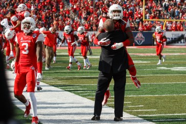 For only the second time ever, UH won 12 games in a single season. | Justin Tijerina/The Cougar
