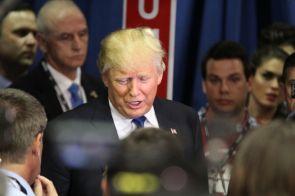 Real estate mogul Donald Trump.| Glissette Santana / The Cougar