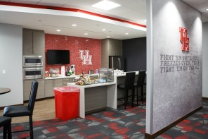 Both sides also have a space where players can grab a snack before our after a long practice. | Justin Tijerina/The Cougar