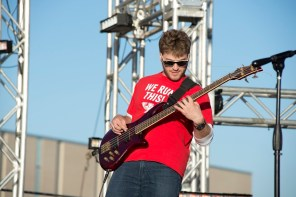 This was the band's returning performance - they played Fiesta last year. | Justin Cross/The Cougar