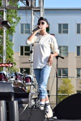 Ryme's performance consisted of comedy, rap and a moment of silence for Phife Dawg, a fellow rapper who died three days prior to the performance. |The Cougar/Robyn Archer