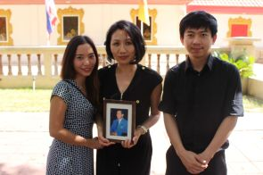 The king was an integral part in many Thais' lives including cultural anthropology graduate Natchaya Wanissorn, applied linguistics assistant professor Chatwara Duran and the Thai Student Association's president Suddan Narathipat.   Nguyen Le/The Cougar