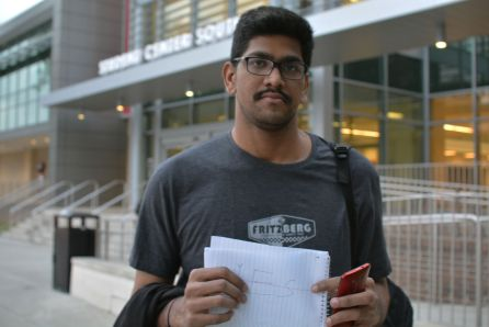"""""""As long as I've been here I've been fine. Maybe in the future, I may have a different opinion, but right now I feel safe,"""" said industrial engineering graduate Bhani Kuira. """"I don't think any of the incidents that have happened should be happening, and that to prevent these things from happening we need more security."""" 