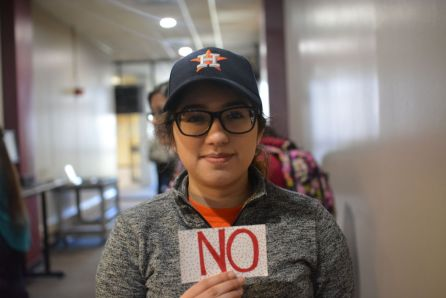 """""""I think people didn't vote last year because most people don't care or think that voting will change anything,"""" said teaching and learning sophomore Cynthia Read. """"I feel like they really need a greater presence on campus. They could send out emails telling people to vote or advertise themselves more around campus. I feel like they haven't really done anything, so while they have the potential to be useful, they aren't right now."""" 
