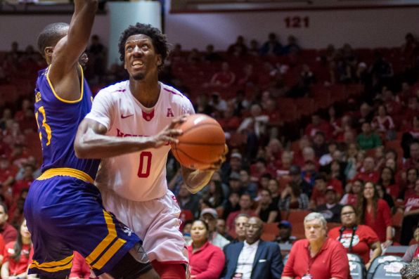 The Cougars totaled an impressive 51 rebounds compared to ECU's 32.   Justin Cross/The Daily Cougar