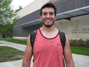 """""""I think Frontier Fiesta needs more publicity, because I didn't really know what it was,"""" said music education senior René Rodriguez. """"Some friends I know thought you have to pay money for it, so get better publicity and put posters up or get someone to come talk about it. Delivering a message face-to-face is much better."""" 