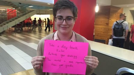 """""""Sometimes I'm reading full novels in a week,"""" said English junior Allison Williamson. """"Right now I'm trying to find a job and it's hard fitting in jobs and interviews with all this schoolwork."""""""