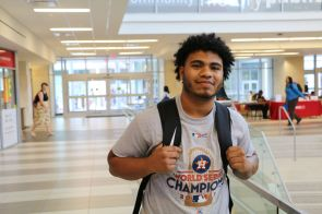 """The city really needed this,"" said political science senior William Chavis. ""To be in a series that was just up and down and could have gone either way was nerve-racking but incredible. It was the best World Series that I have ever seen, and I am so happy to have been a part of it."""