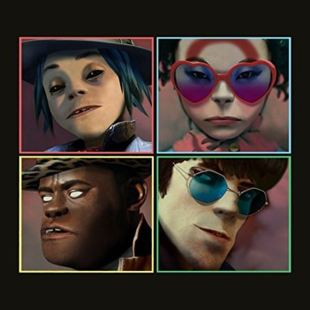 """Gorillaz, another group approaching legendary status, released Humanz seven years after their last project. Featuring Long Beach rapper, Vince Staples, """"Ascension"""" merges techno and hip-hop to make something extremely jarring. 