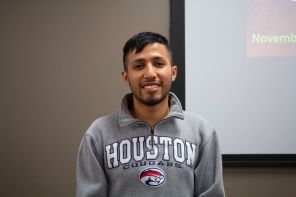 """""""I'll be spending some time with my fraternity brothers. We're doing a Thanksgiving dinner, and then spend some time with my family. (We'll) do a barbecue in the backyard,"""" said mathematical finance junior Abraham Garcia. 