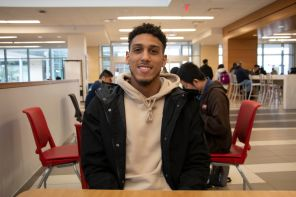 """I just plan on going home and spending time with the family,"" said petroleum engineering sophomore Trey Woods. 