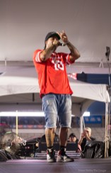 Native Houstonian Lil' Flip headlined Cage Rage before a crowd of spectators. | Trevor Nolley/The Cougar