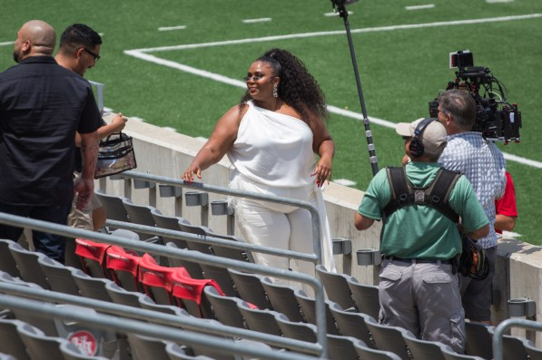 The 31-year-old was a member of the Spirit of Houston band during her time at UH. | Trevor Nolley/The Cougar