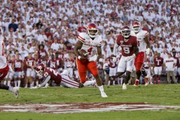 King ran for 112 yards against the Sooners | Trevor Nolley/The Cougar