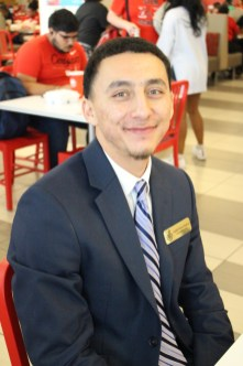 """""""(My favorite was) Andrew Yang,"""" said Audiel Perez-Negron, management information systems senior. """"He's going into this idea of trickle-down. I think that his idea is brilliant because the money will come back into the economy."""" 