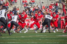 Saturday night's loss was the fourth of the season for the Cougars. | Trevor Nolley/The Cougar