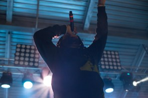"""Hits from Waka Flocka's set included, """"Round of Applause,"""" """"O Let's Do It"""" and """"Grove St. Party."""" 