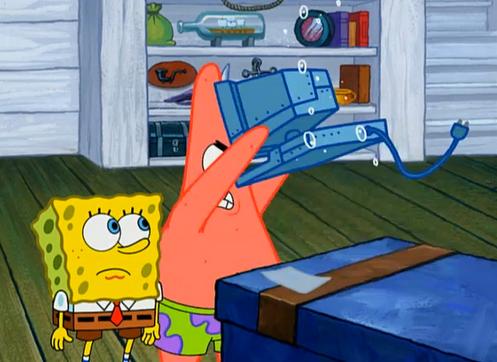 spongebob computer