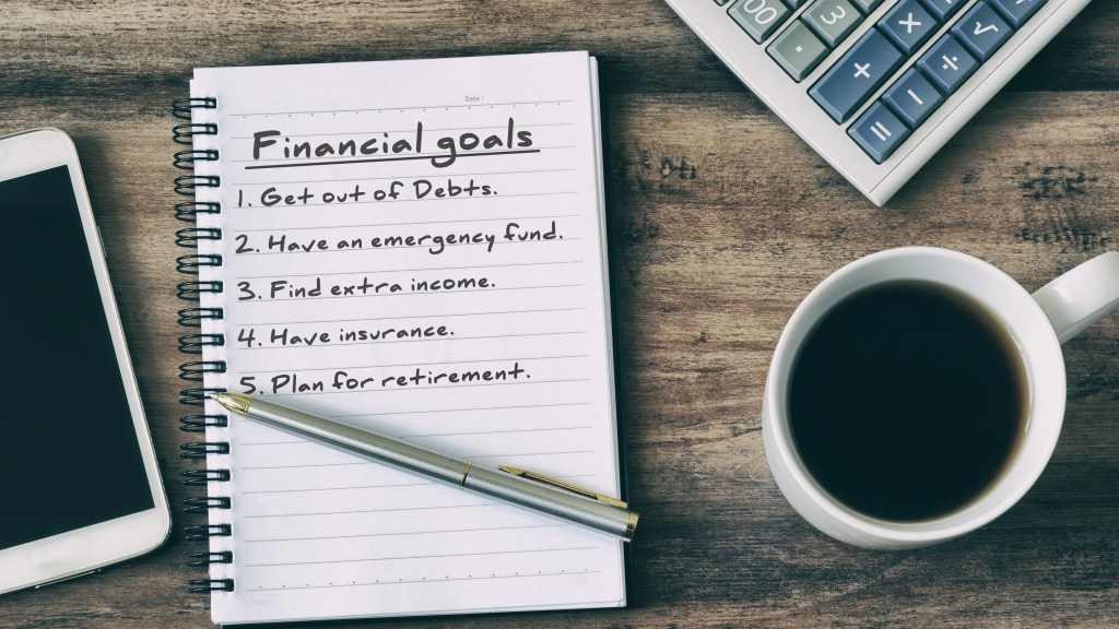 Revisit financial goals