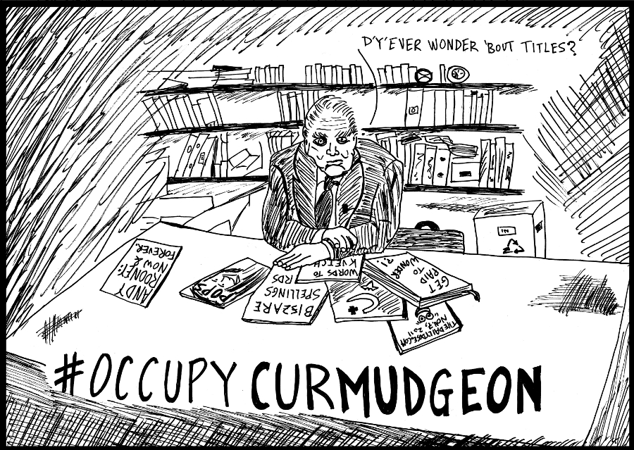 occupy curmudgeon andy rooney comic strip panel by laughzilla for the daily dose