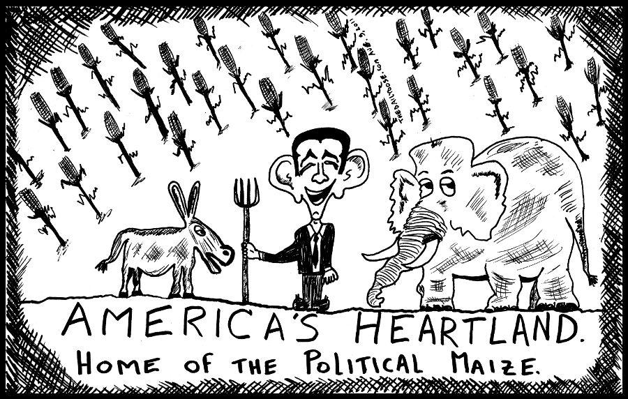 America's Heartland The Home Of Political Maize
