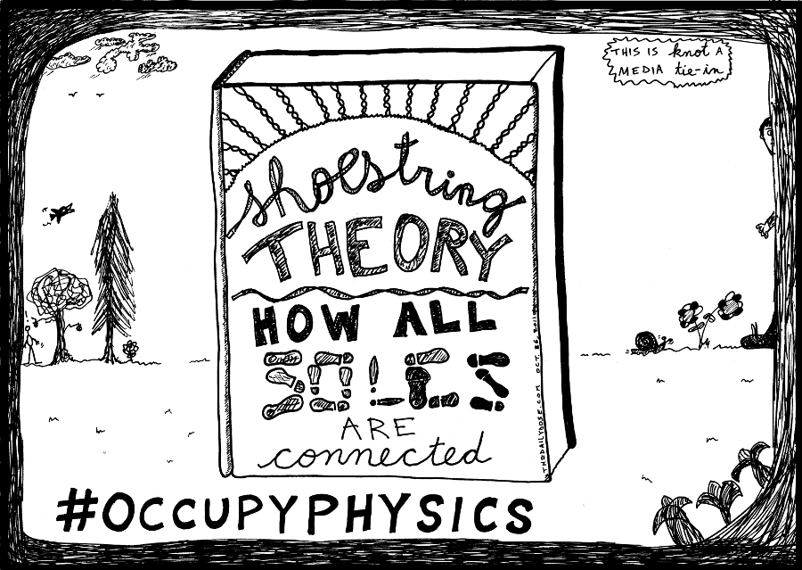 shoestring theory how all soles are connected book title cover cartoon comic strip caricature by laughzilla for the daily dose