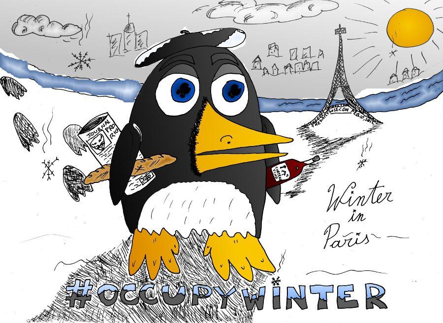 Occupy Winter In Paris