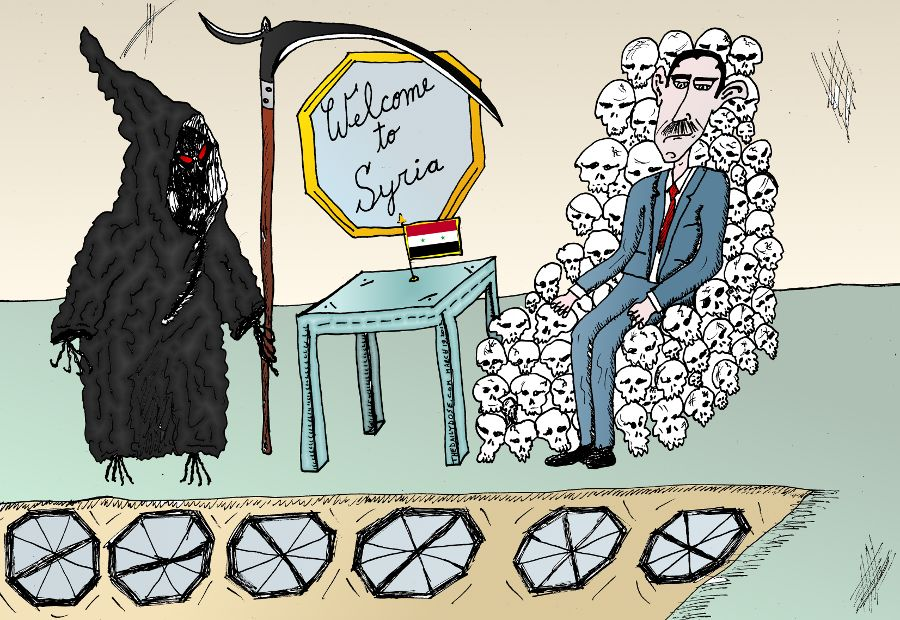 Bashar Assad Welcomes Death In Syria