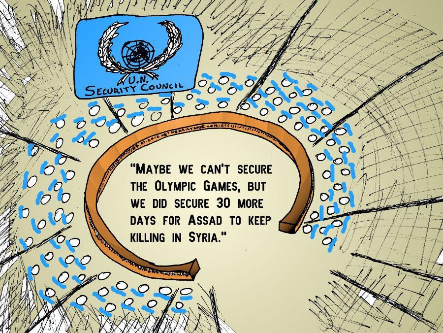 UN Security Council Olympic Syria Fail
