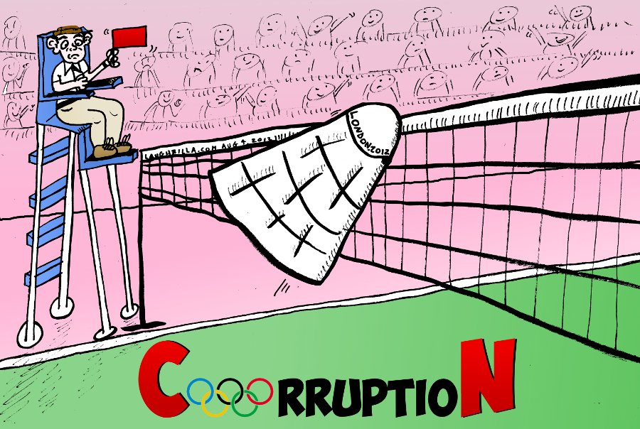 2012 London Olympic Games Badminton Corruption