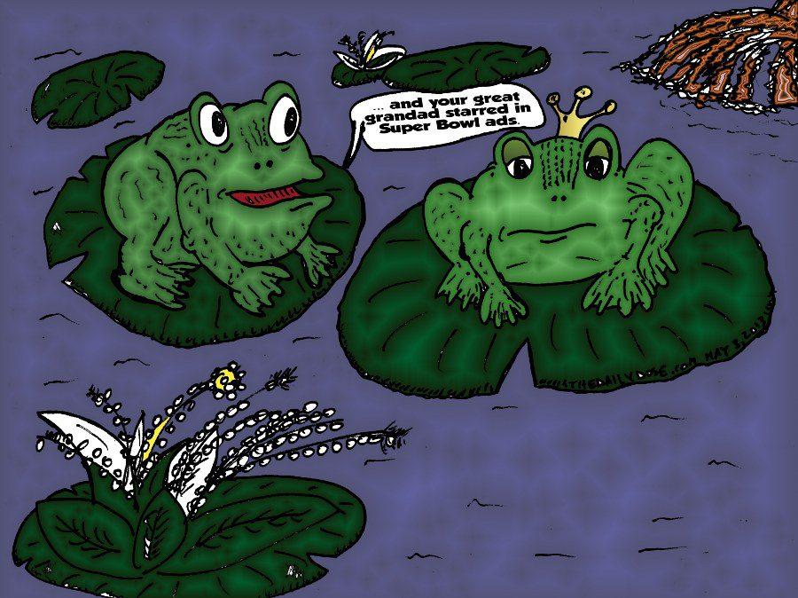 Frogs Super Bowl Legend