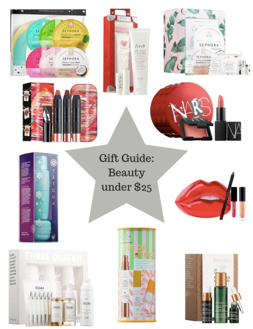 Gift Guide: Beauty under $25