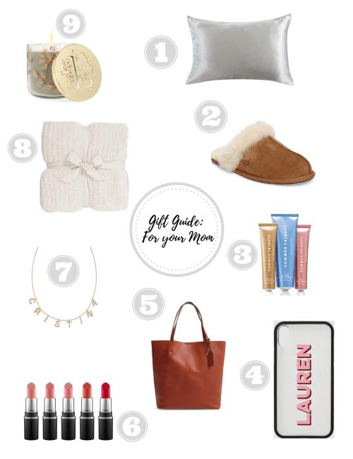 Christmas Gift Guide: Mom