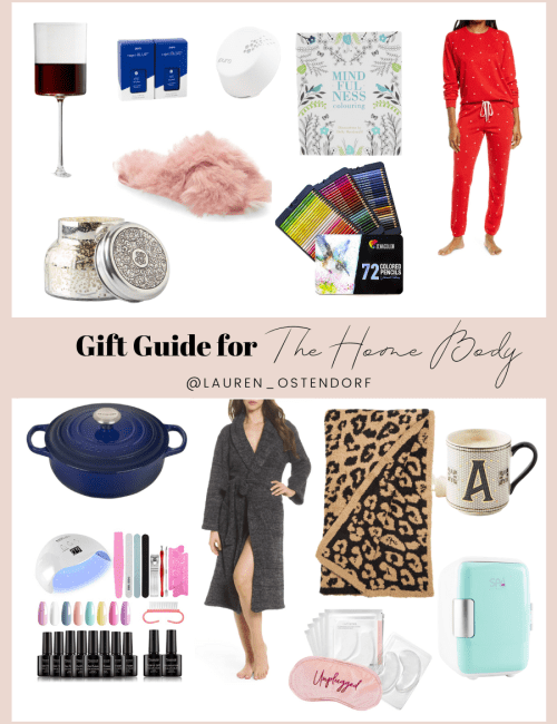 Gift Guide For The Home Body