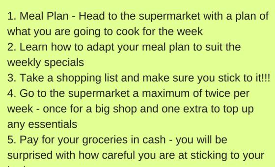 Kathrine's Top 5 Shopping Tips