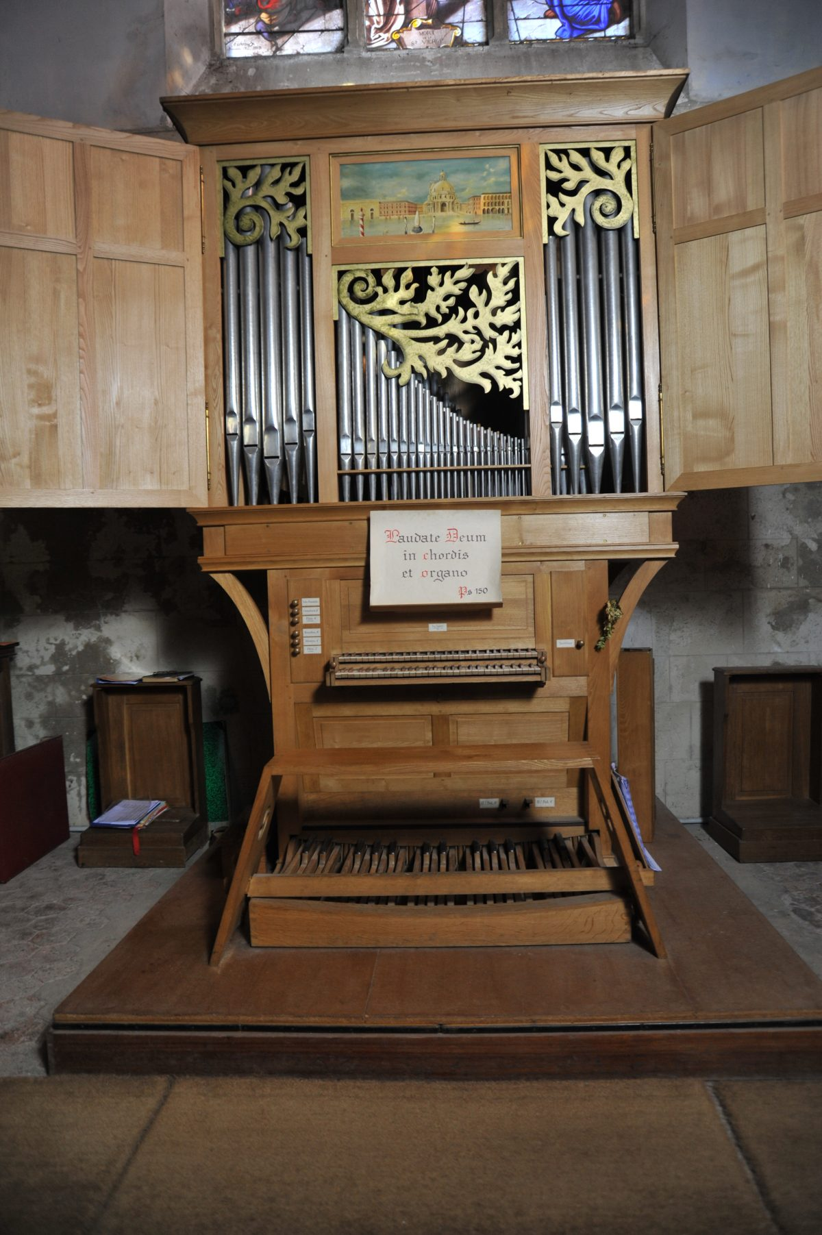 Orgue - Eglise de Faremoutiers