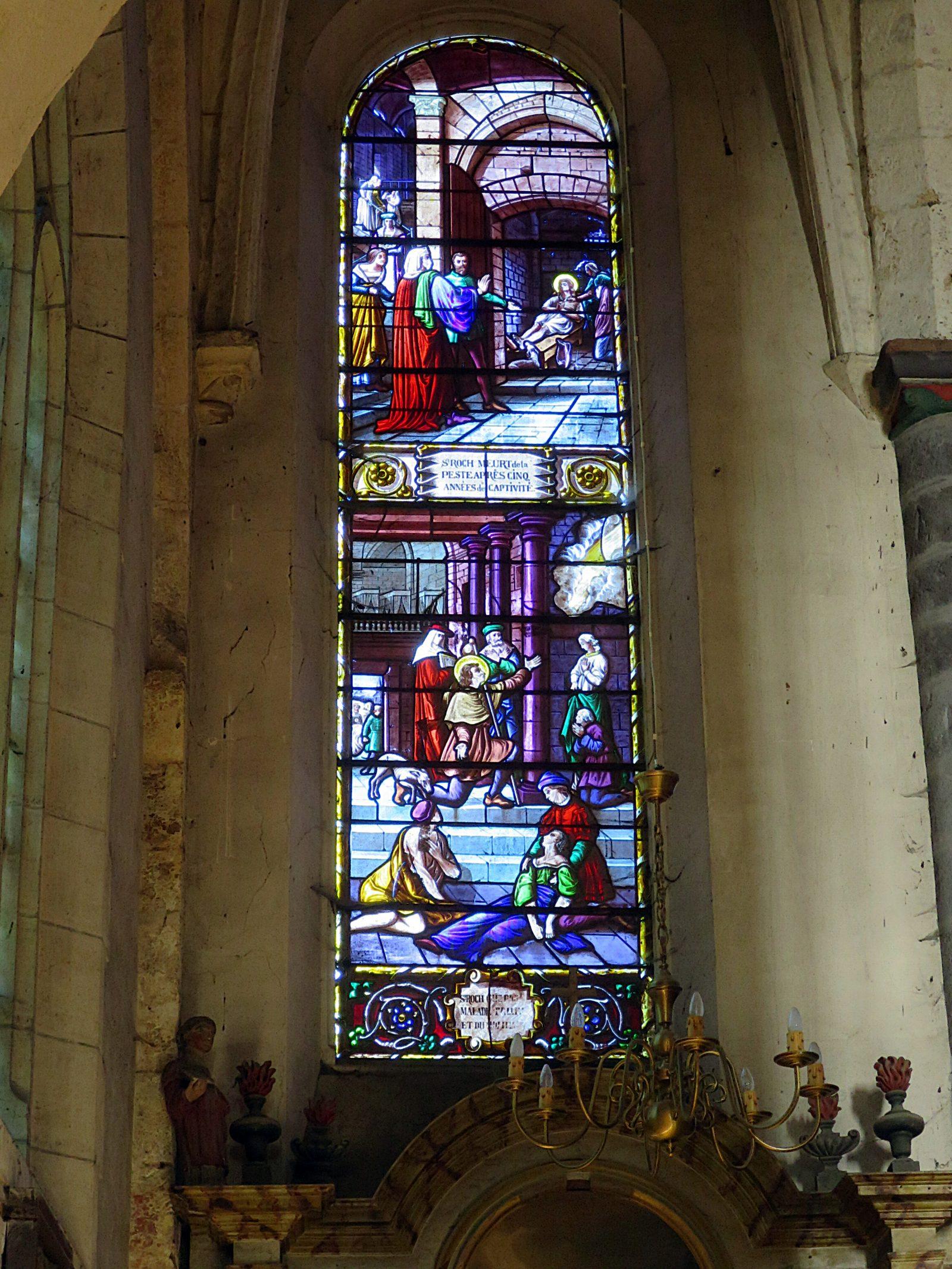 Chapelle de la vierge - Eglise de Faremoutiers