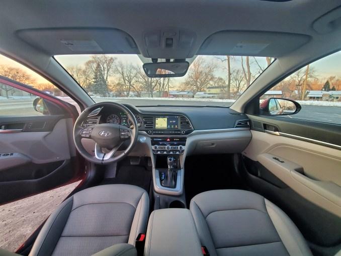 2020 Hyundai Elantra Interior Front Seats