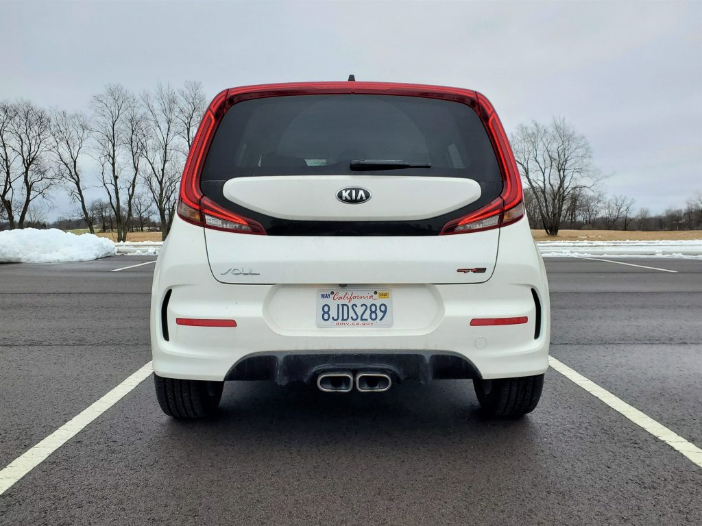 2020 Kia Soul GT-Line Turbo White Rear