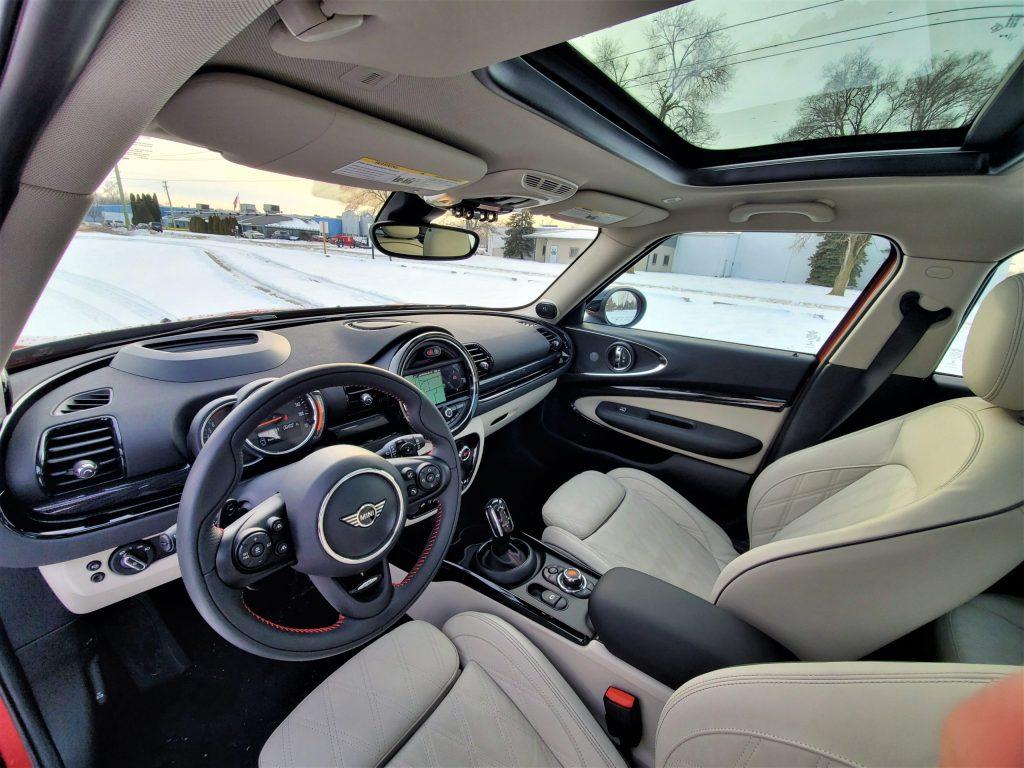 2020 Mini Cooper S Clubman Interior Front