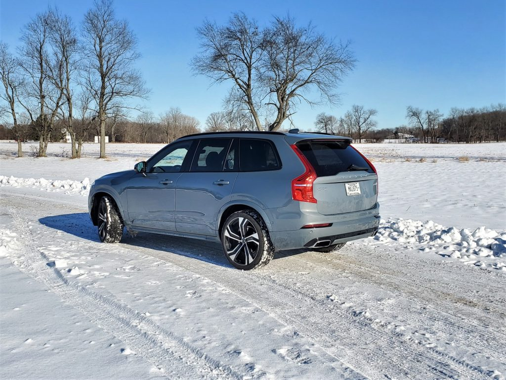 2020 Volvo XC90 Grey Left Rear
