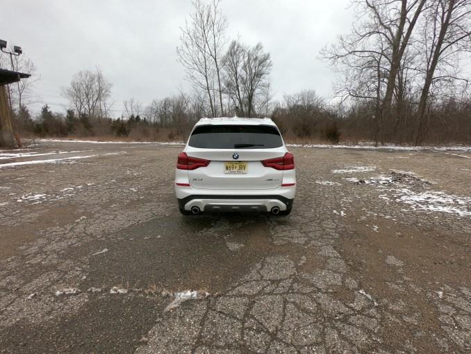 2019 BMW X3 xDrive30i White Rear