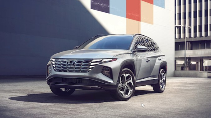 2022 Tucson Front Silver