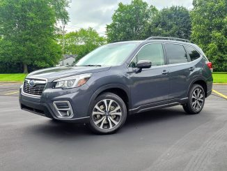 2020 subaru forester grey