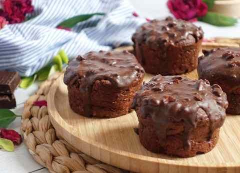 Muffins au chocolat ultra fondants et healthy
